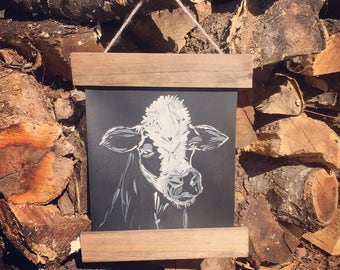Cow wall hanging