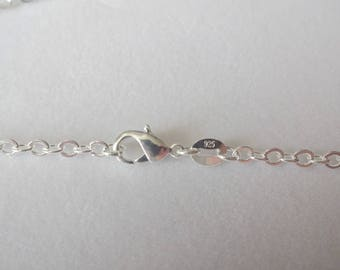925 Stamped Sterling Silver Chain 22 inches