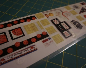 Creative Memories Basketball Great Lengths Stickers