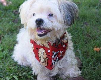Puppy and dog bandanas are the perfect accent for any stylin pet to wear!