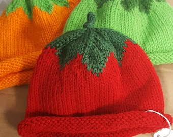 Fruit or veggie hats