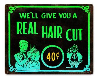 Haircut 40 Cents