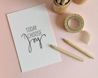 Card mailing message, A6 format, print, illustration, decoration, room, salon, 10x15cm