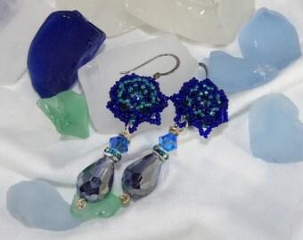 Vintage Couture Teardrop Earrings