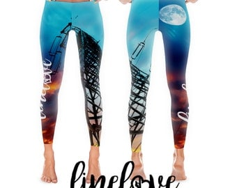 Linewife Legging with Tower Powerline and Sunset