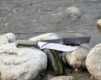 Groomsmen knife Handmade knife Hunting knife Survival knife Camping knife Custom knife Fishing knife Camp knife Rescue knife Military knife