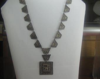 F-93  Vintage Necklace 900 silver