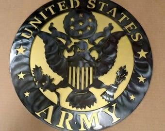 "Army 18"" Military Insignia"