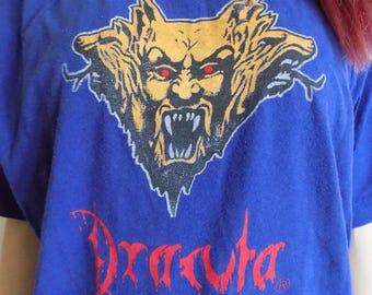 BIG July SALE!!!Free shipping!!! Vintage Dracula Bram Stoker T-shirt