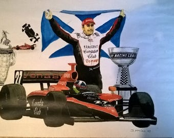 Indy 500 Indianapolis 500 motor racing Dario Franchitti picture - FREE SHIPPING