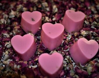 ZomBee Mini Heart Shaped Rose Scented Soap