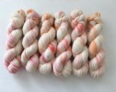 Sock Hand Dyed Australian 80/20 Merino nylon Revelry Sock Fingering 4 ply Knitting Yarn Star Finch