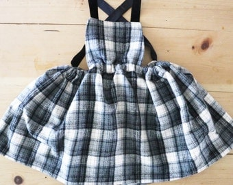 Apron dress for baby/toddler girl