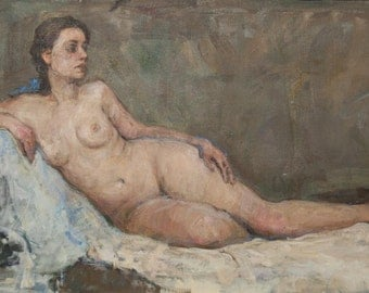 Nude, 27.1x47.2inches