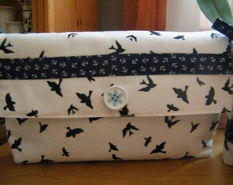Clutch anchor fabric
