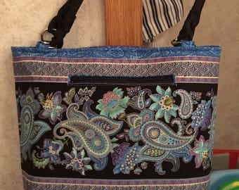 Purse - Purple Paisley