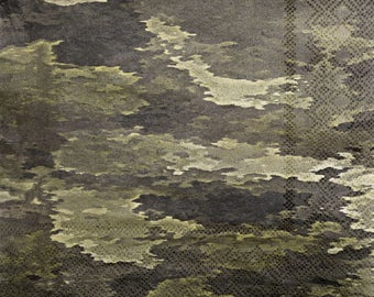 Military Camo Lunch Napkins 16 Pack