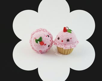 Strawberry IceCream Cuppycakes