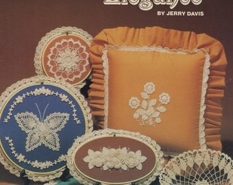 Crocheted Elegance,  Tomorrow's Heirlooms Crochet Pattern Booklet TH-20 Dogwood Roses Butterfly Flowers & More