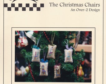 Christmas Chairs, Brightneedle Charted Designs Counted Cross Stitch Pattern Book No 36