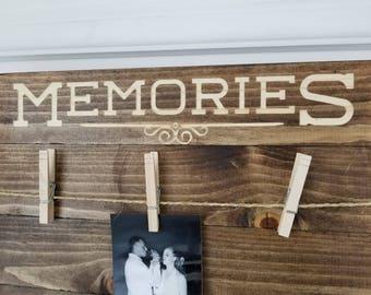 Memories Photo Board.