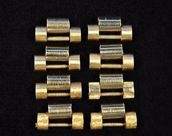 Rolex President Bracelet Links. Solid 18K Yellow Gold