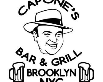 Al Capones Bar and Grill SVG