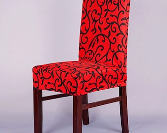 Kitchen Chair Cover Etsy