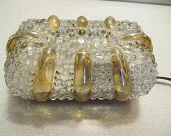 1960s German Bubble Glass Sconce