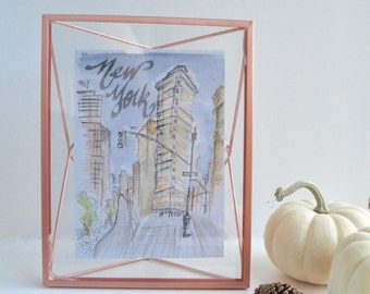 New York City Illustration Digital Print