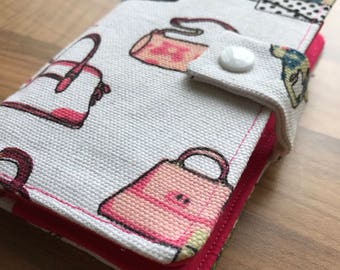 Fabric Post it Note Holder