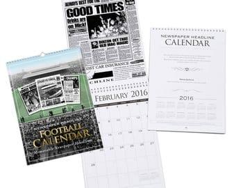 Personalised Reading Football Calendar