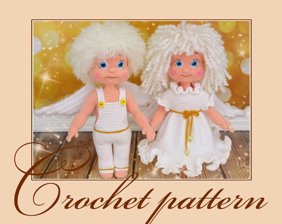Angel Amigurumi Paso A Paso : Angels Amigurumi Crochet Pattern PDF file by Anna Sadovskaya