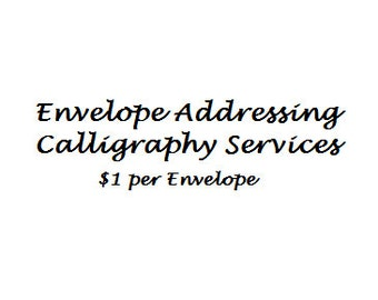 Wedding Calligraphy Services