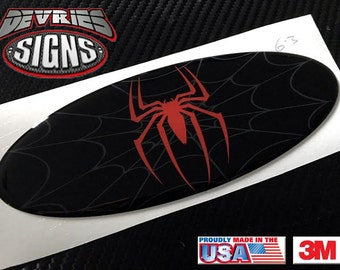 DOMED Ford emblem overlays Spiderman 3M™ F-150 F-250 F-350 Super Duty & other models