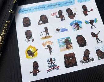 Custom Bitmoji Sticker - Custom Bitmoji Planner Stickers - Custom Planner Stickers - Bitmoji Stickers - Planner Stickers