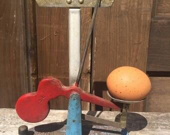 Antique Egg Scale