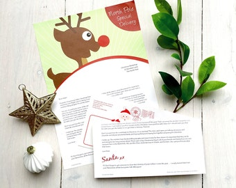 Personalised letter from Santa - Reindeer Post