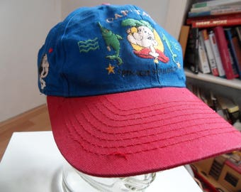 Popeye The Sailor man Oliv Olive Brutus Embroidered Snapback Hat Cap Baseball Cartoon Spinach Squadron Fishes Cap'tain  Blue Red Amcap USA