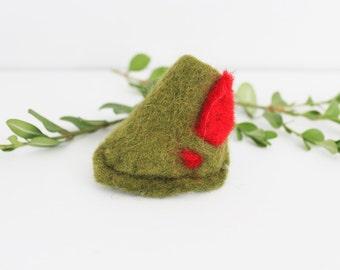 Mini Robin Hood Hat - Peter Pan - Mini Hats - Unique Baby Gifts