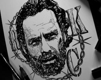 Rick (A3) Walking Dead