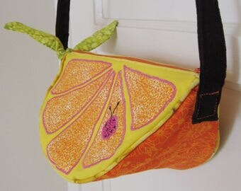 Yummy Orange Slice Purse!