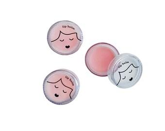 Sweetie Pie Pink Lip Balm by No Nasties Makeup Australia