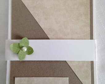 Set of 4 Blank Greeting Cards with Envelopes