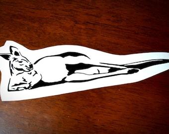 Vinyl Decal - Kangaroo