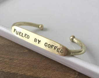 Fueled by Coffee  |  Coffee Lover Gift  |  Coffee gift  |  Coffee related gift |  Coffee Obsession  | College Student gift | New Mom Gift