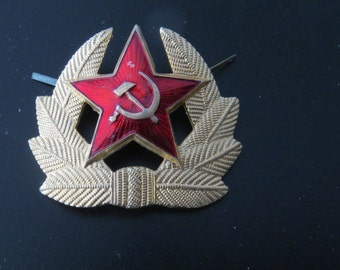 Vintage Soviet Red Army Hat Pin