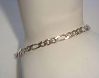 Vintage 925 Sterling Silver Link Bracelet