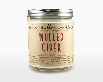 Mulled Cider 8oz Soy Candle | Candles, Soy Candles, Apple candles, Home Decor, Apples scent, Cider, Fresh, Fruity, gifts for her, girlfriend