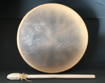 Elk Hide Traditional Hand Drum